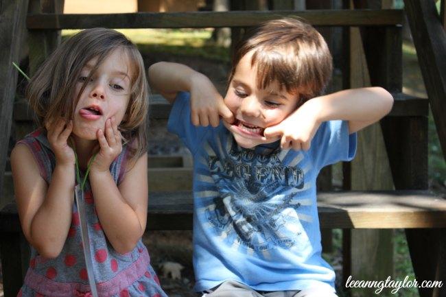 silly kiddos