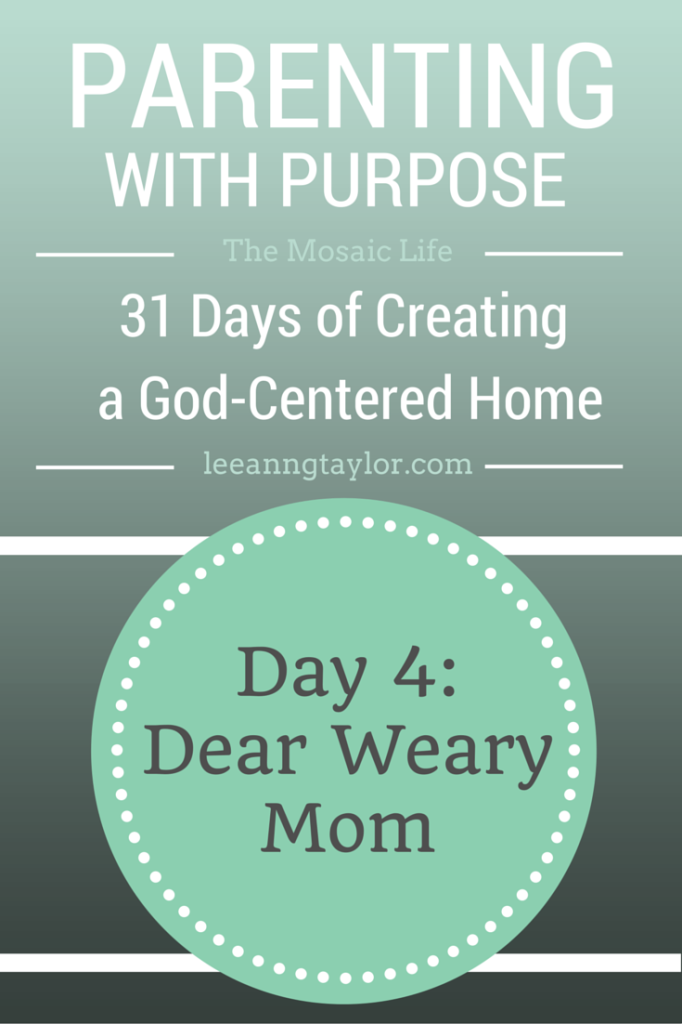 Parenting With Purpose Day 4
