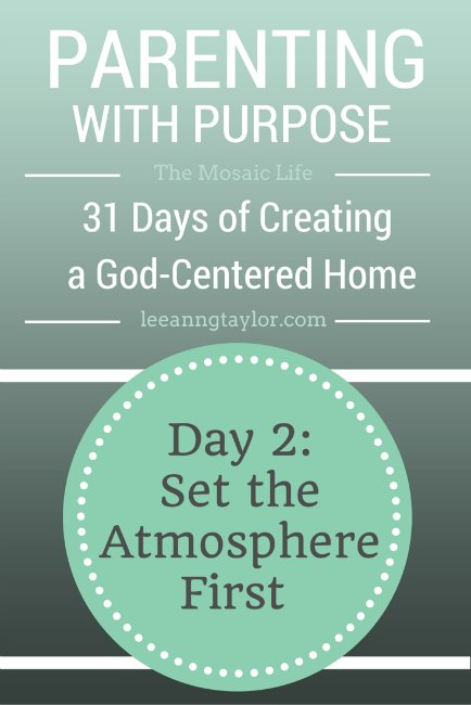 Parenting With Purpose Day 2