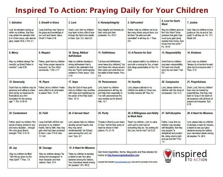 prayer calendar download
