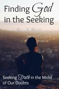 Finding God in the Seeking