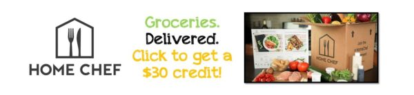 Home Chef Groceries Delivered $30 Credit Discount