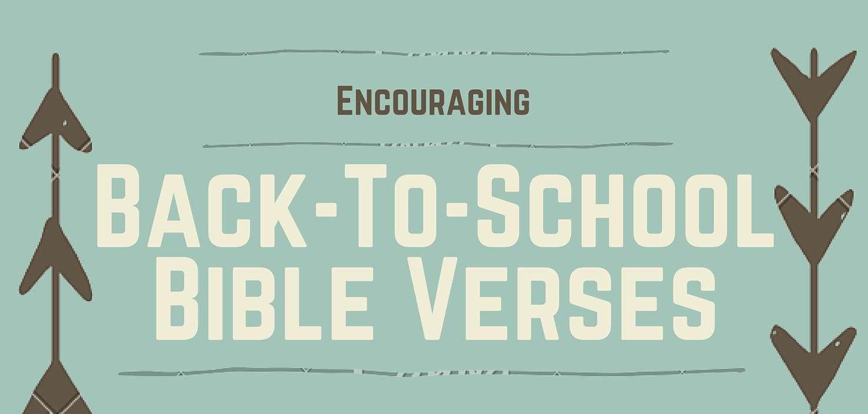 Encouraging back to school bible verses free printable leeann g