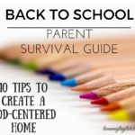 christian parent back to school survival guide