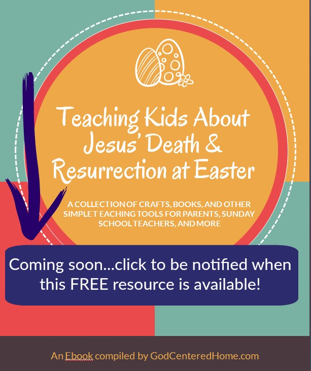 teaching about jesus at easter coming soon